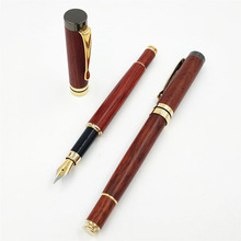 Multi-function wood fountain pen