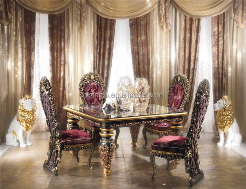 Antiquite Italie Style Imperial Salle A Manger Meubles Ornes Luxueux