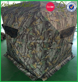 Outdoor camo hunting blind , folding hunting blind for sale
