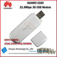 New Original Unlock 21.6Mbps HSDPA USB Modem Driver Download E352 USB 3G Modem Support 900/2100MHz