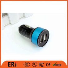 Wholesale cell phone ce 5v2.1a adapter double fast 2 port usb multiple car dual usb charger