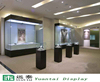 fashion glass counter top display cabinet jewelry exhibition stand