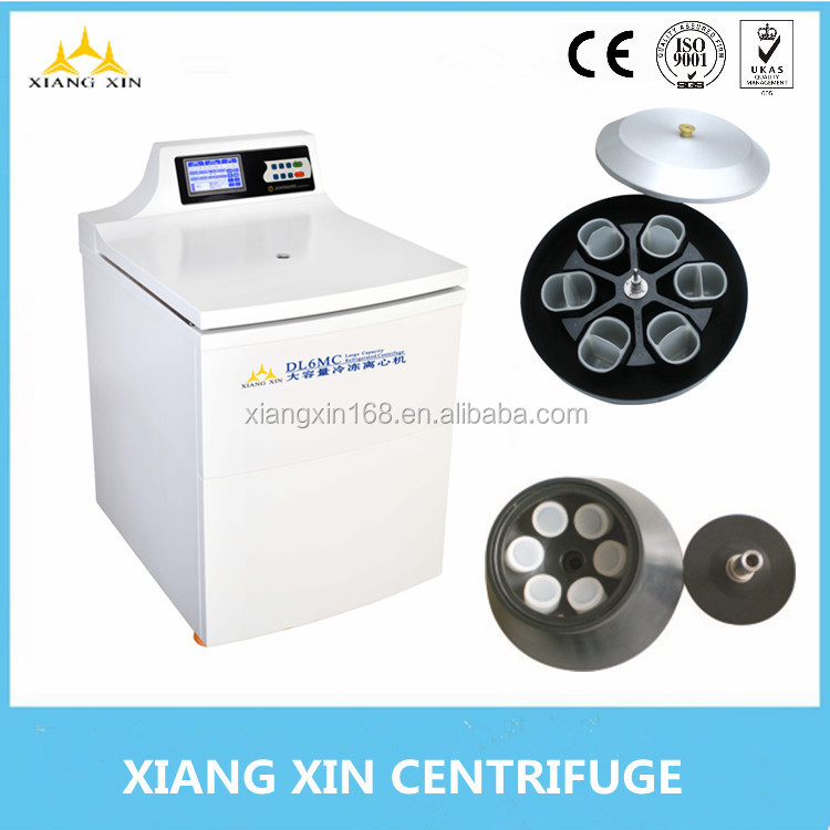 standing type large capacity blood bank 500ml 1000ml blood bag centrifuge DL-6MC DL-7MC