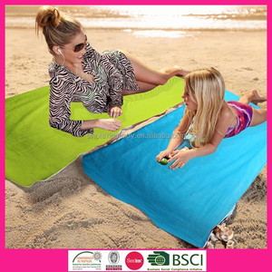 100% Cotton Velour Print Beach Towel (75*150cm) For Adults Washcloth