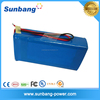 deep cycle rechargeable lifepo4 battery pack 24v 100ah for solar power system/electric car/telecom/UPS