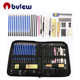 Complete Artist Kit Includes Pencils, Erasers, Pastels, A Handy Case etc 40 Pieces Professional Sketch pencil Set For Drawing