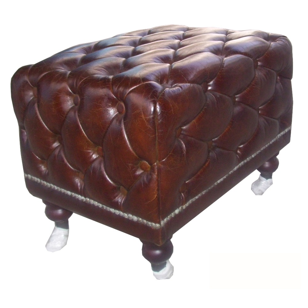 Wondrous Antique Chesterfield Sofa Chair Leather Ottoman View Leather Ottoman Defaico Product Details From Henan Defaico Import Export Company Limited On Evergreenethics Interior Chair Design Evergreenethicsorg