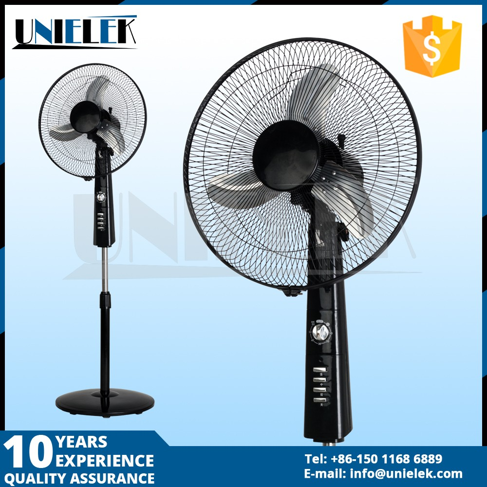 Large 12 Volt Fan : Big strong wind dc motor operated volt battery
