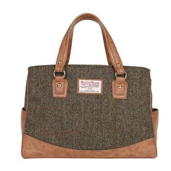 New Stylish Harris Tweed Tote Handbag