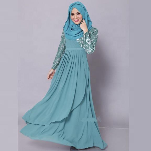Top Fashion Pakaian Islam Malaysia Baju Muslim Wanita Renda Gaun Muslimah Jubah Buy Malaysia Gaun Muslimah Jubah Malaysia Baju Muslim Wanita Dress Muslimah Jubah Product On Alibaba Com