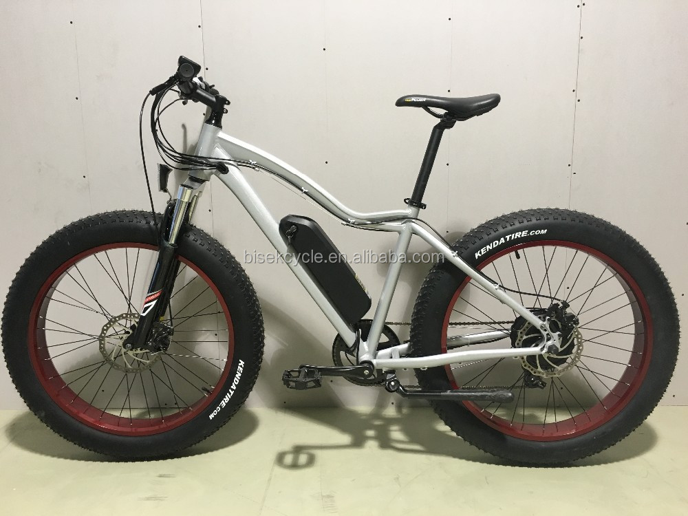 Bisek production 4.0 fat tire e bike with suspension front fork