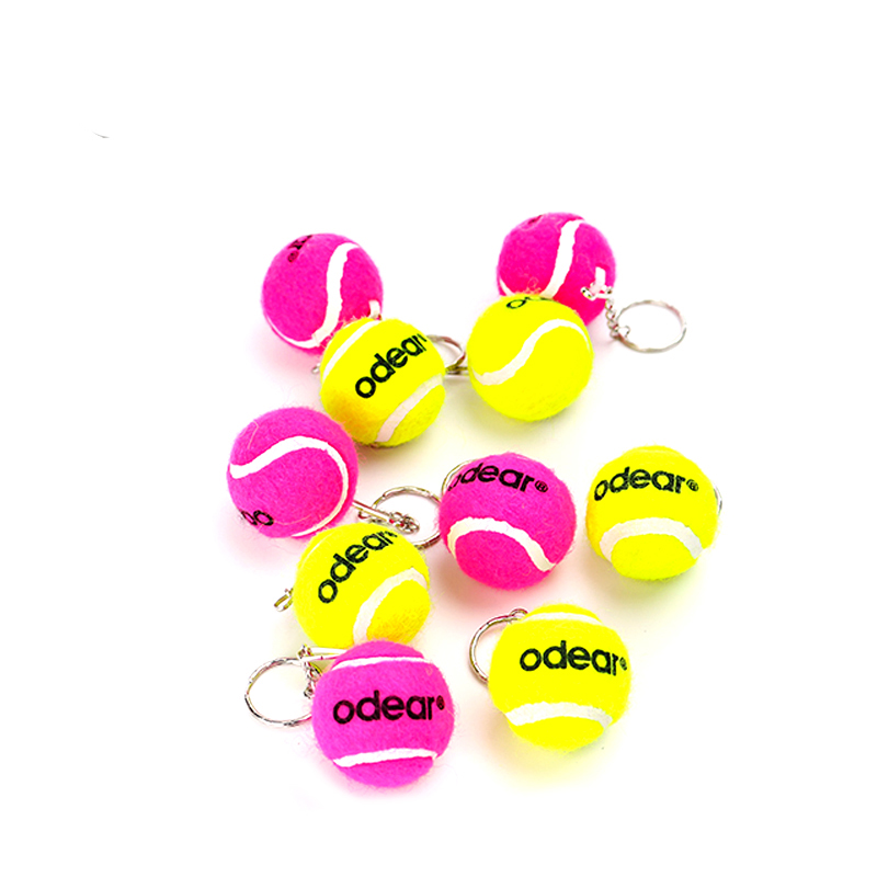 Custom Logo Mini Tennisbal Sleutelhanger