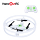 6 axis gyro 2.4G 4ch rc mini helicopter mystery ufo with special protection ring