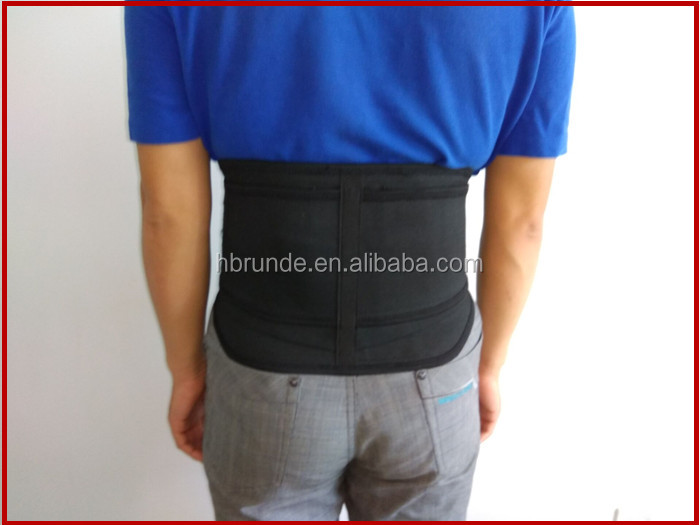 back support posture correction with removeable magnetic pad