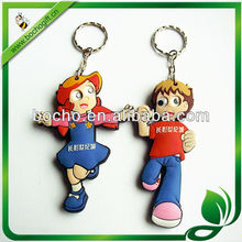 Promotional gifts 3D keyring with OEM logo