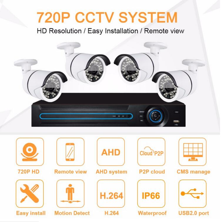 Wholesale Price Cctv System Camera Kit With 8 Ch Eyes To Protect Your Home Safety