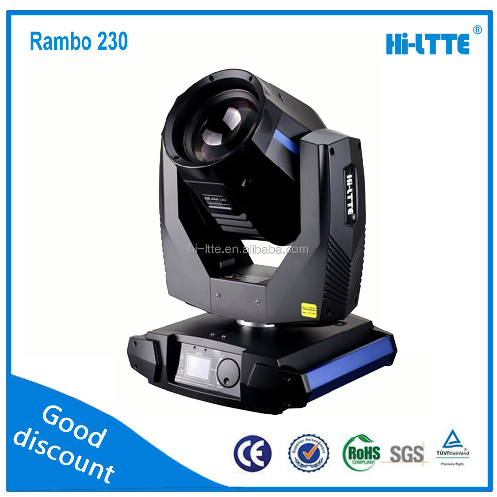 Professional Stage Lighting Small Mini 7r Beam 230 Moving Head ...
