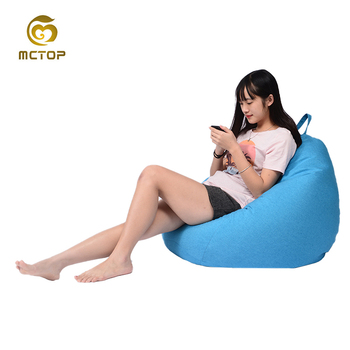 Customized triangle xl Living Room Sofa Bean Bag