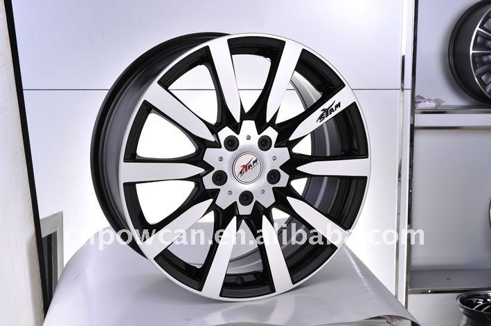 ST509 chrome wheel for a car
