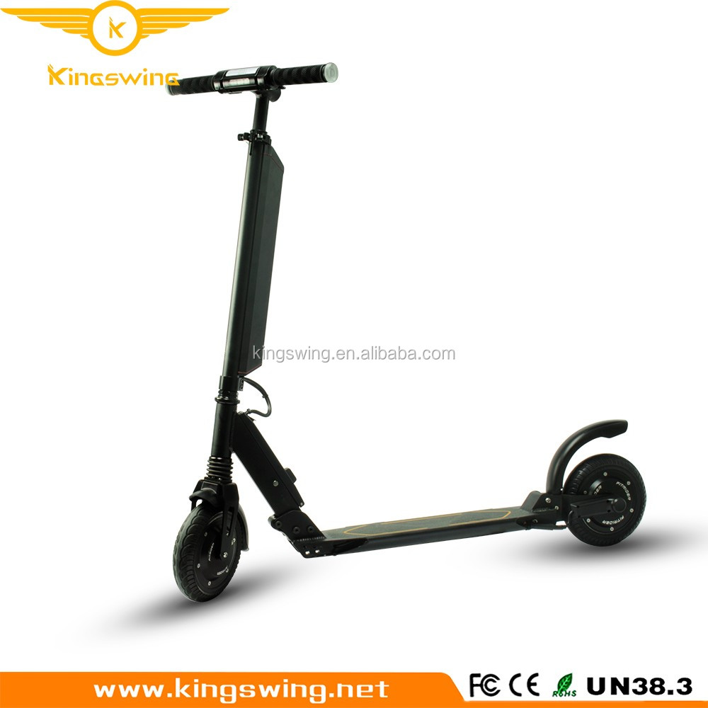 Factory Folding kick scooter electric skateboard CE FCC RoHS UN38.8 certificated two wheel stand up foot scooter