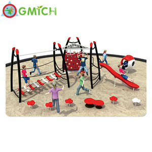 Multi-function outdoor Gym equipment playground ,outdoor plastic playsets
