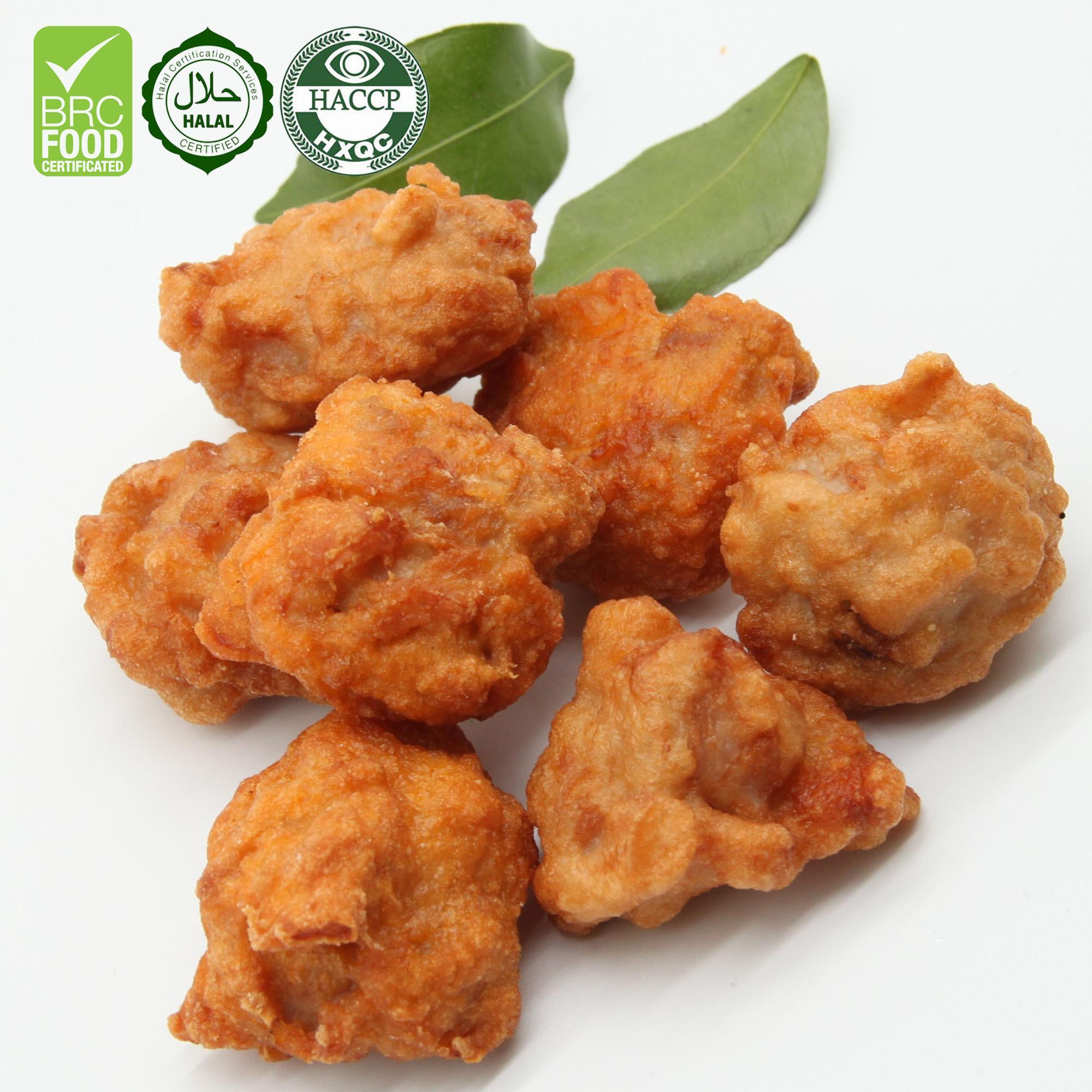 Halal Frozen  Fried  Chicken Leg Meat Karaage