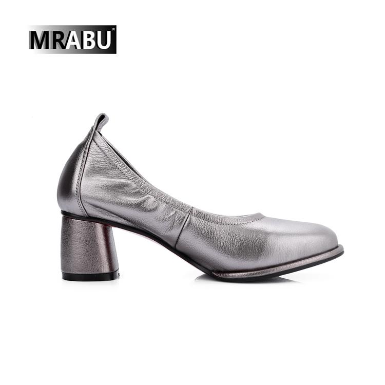 punjabi shoe Soft leather photos Silver branded Chunky shoes jutti heel A0wSqy7R