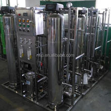 2000 LPH Purified Drinking Water Production plant / 2T RO Desalination System / 2000LPH Small RO Water Treatment