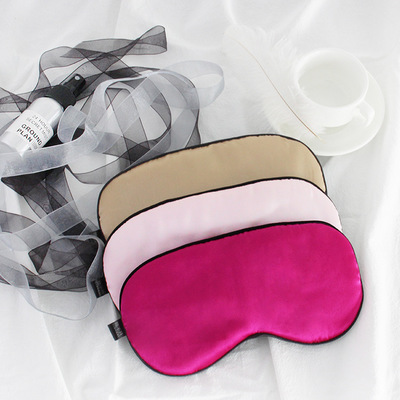 2018 factory hot sale newest style silk sleep <strong>eye</strong> and face mask