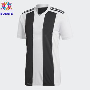 2018-2019The newest chinese design wholesale sublimation polyester Italy club team soccer jersey