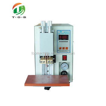 18650 Cylindrical Battery Tab Spot Welding Machine Battery Spot Welder Tob Apr30 View Spot Welder Tob Product Details From Xiamen Tob New Energy Technology Co Ltd On Alibaba Com