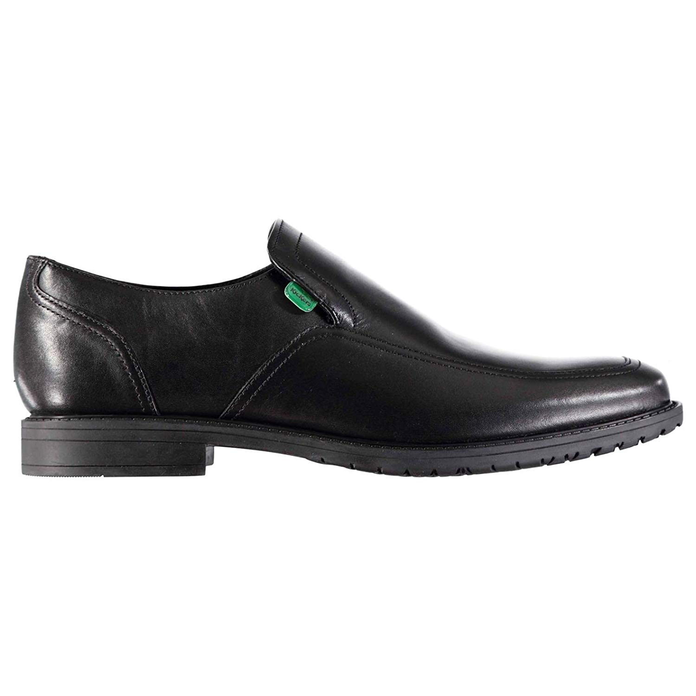 0304f4129f9f Get Quotations · Kickers Kids Chreston Slip On Design Smart Formal Shoes  Slight Heel