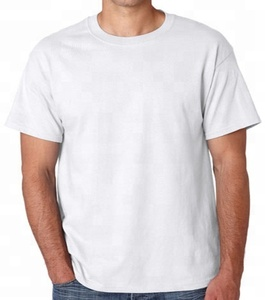 Bulk sale white cotton t shirt existing garment in European size