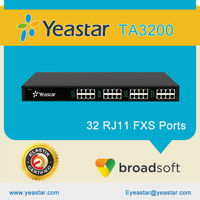 Analog FXS VOIP Gateway with 32 FXS Ports