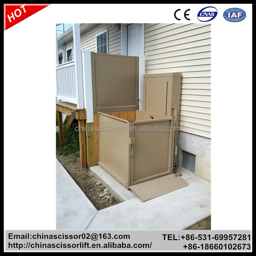 Small Home Lift Elevator Residential Elevator Lift For