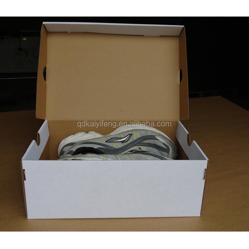 pas cher personnalisé imprimé papier carton boîte À chaussures