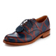China leather shoe,Oxford leather shoes,dragon printed leather women shoes