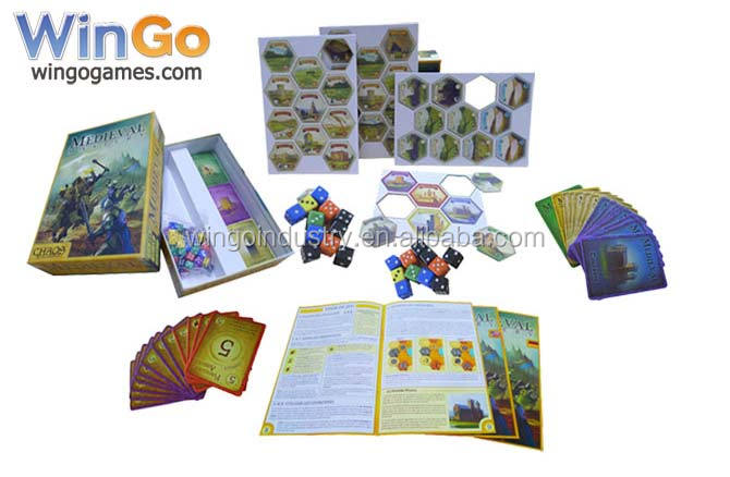 custom high quality board game counters manufacturer in China with competitive price