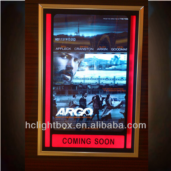 lighted movie poster frames light box cinema light box buy movie poster light boxposter framesmovie light box product on alibabacom - Movie Poster Frame
