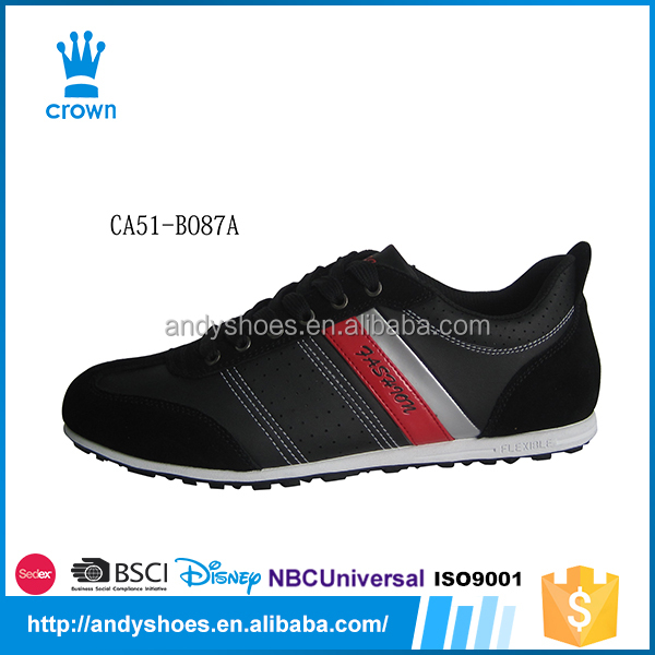 Hot sale china high quality children casual germany pu leather shoes