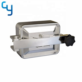 SS304 SS316L stainless steel square manway cover for tank manhole