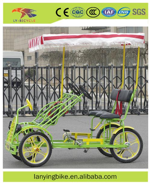 2016 nuovo stile 4 sedile bicicletta tandem 4 persone for Bicicletta per tre persone