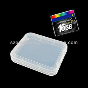 Hot sale CF card plastic box