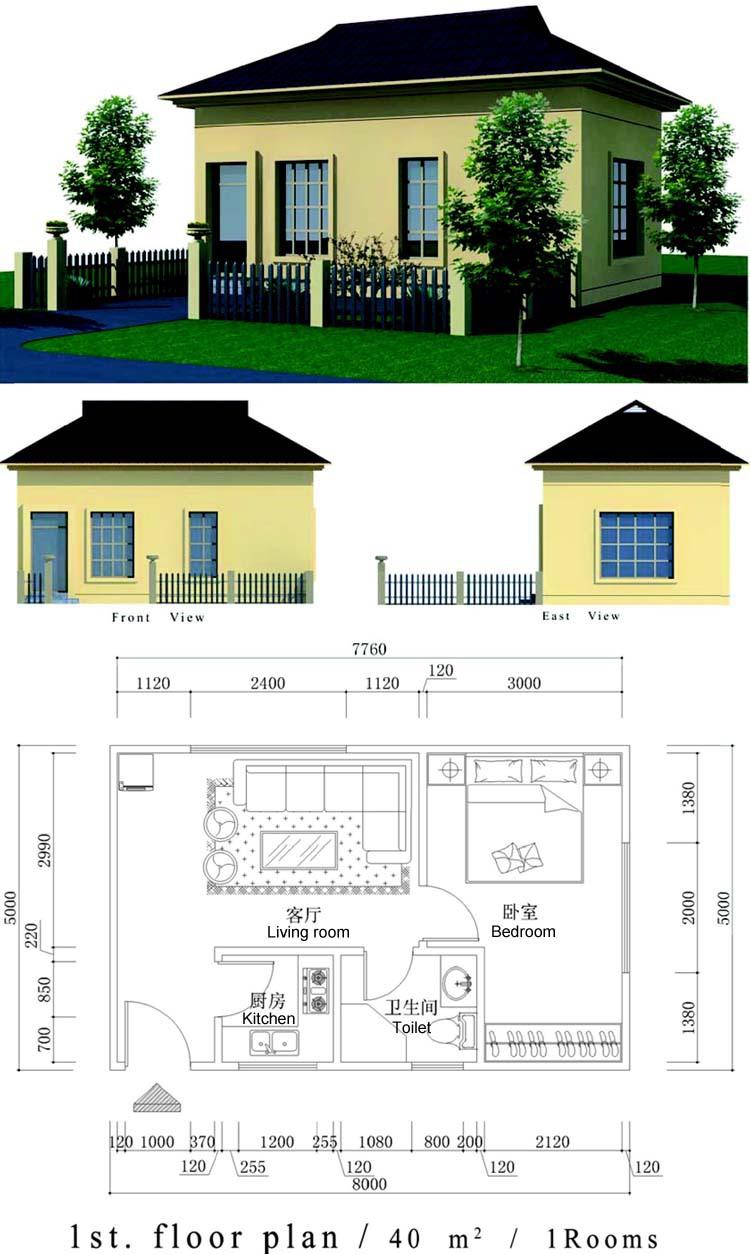Obon light weight eps foam blocks prefab house designs for kenya