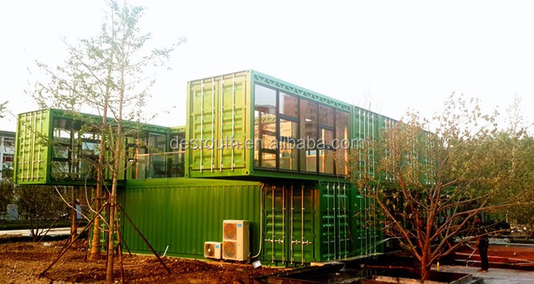 Container homes 40ft luxury villa container home kits for Villa container