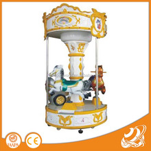 2016 indoor little carousel rides for amusement game center