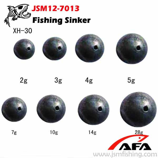 Fishing Tackle Ball Lead Sinker,Lead Weight Jsm12-7013