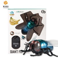 Infrared Remote control fly, rc fly plastic insect toy remote control playsets
