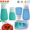 Best price for hot sauce plastic bottles mini jar as silicone jars dab wax container
