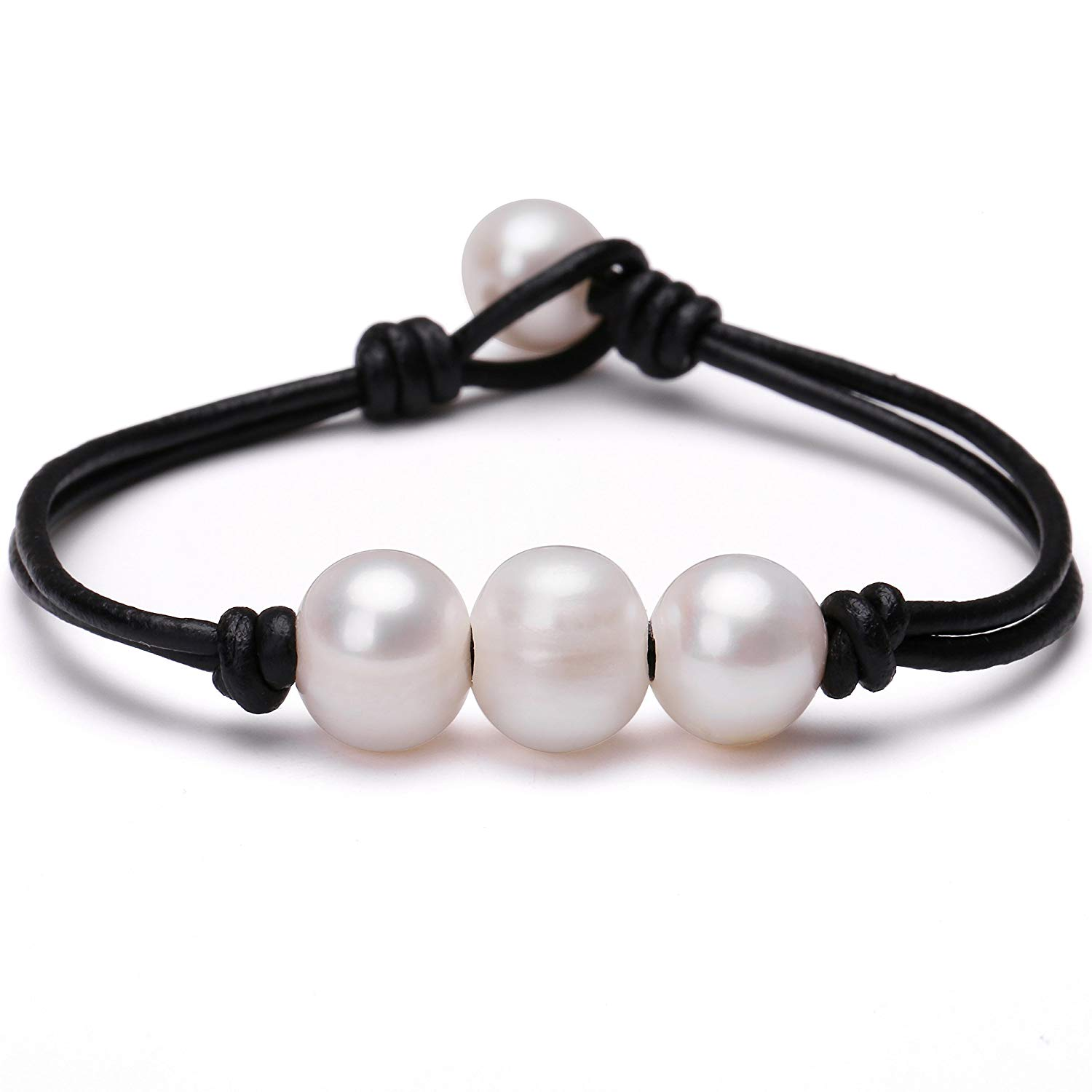 Wholesale Lot Of 20 Genuine Cultured Freshwater Coil Pearl Bangle Bracelet Fine Jewellery Sets